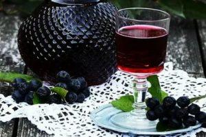Настойка самогона на черноплодке рецепты