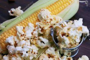 Как сделать попкорн из свежей кукурузы