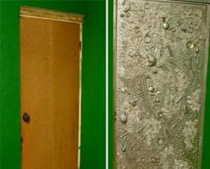 Как обновить дверь в туалете