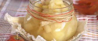 Яблоки пятиминутка на зиму для пирогов