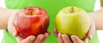 Яблоки показания и противопоказания